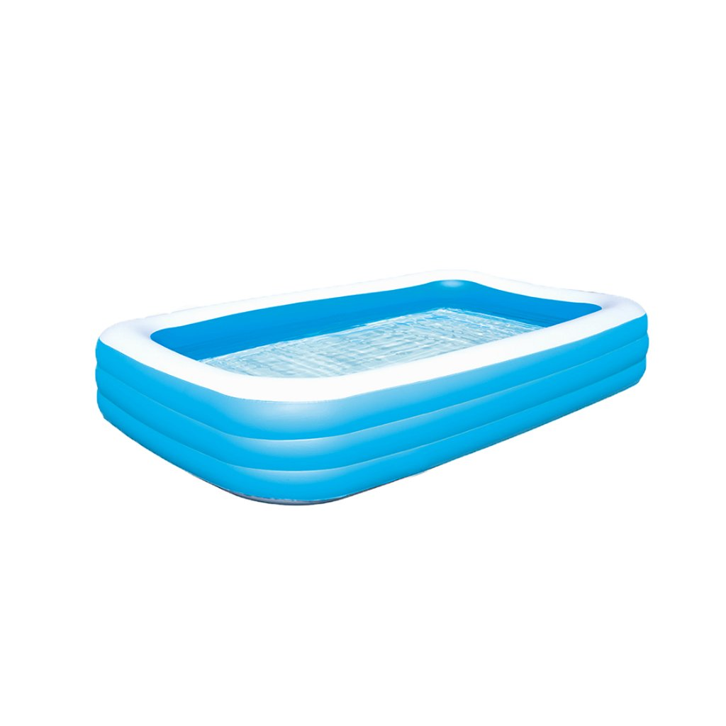 Badewanne Aufblasbares Schwimmbecken Blau Erhöhung Verdickung Baby Planschbecken Erwachsene Startseite Folding Pool Rechteckige Schwimmen Familie Bad Rollsnownow