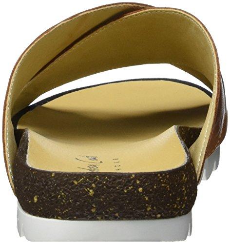 Andrea Conti 1673409 - Mules Mujer Marrón (Cognac)