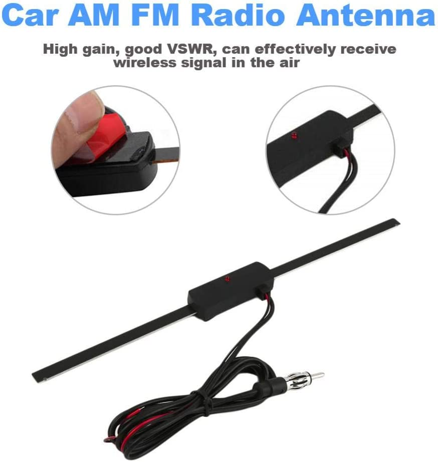 siwetg Universale Auto Radio FM Antenna Segnale Amp Amplificatore Marina Auto Barca RV Signal Enhance Device 2