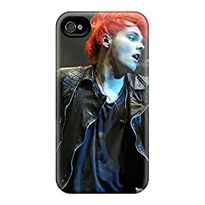 Iphone 4/4s COm12958NaSf Support Personal Customs Attractive My Chemical Romance Pictures Shock-Absorbing Hard Phone Case -DannyLCHEUNG