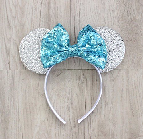 (Cinderella Mickey Ears, Cinderella Minnie Ears, Cinderella Ears, Blue Mickey Ears, Elsa Mickey Ears,Silver Mickey Mouse Ears, Blue Minnie Mouse Ears,Frozen Minnie)