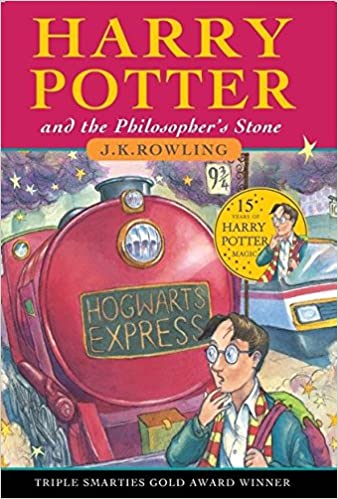 Image result for harry potter and the philosopher's stone book