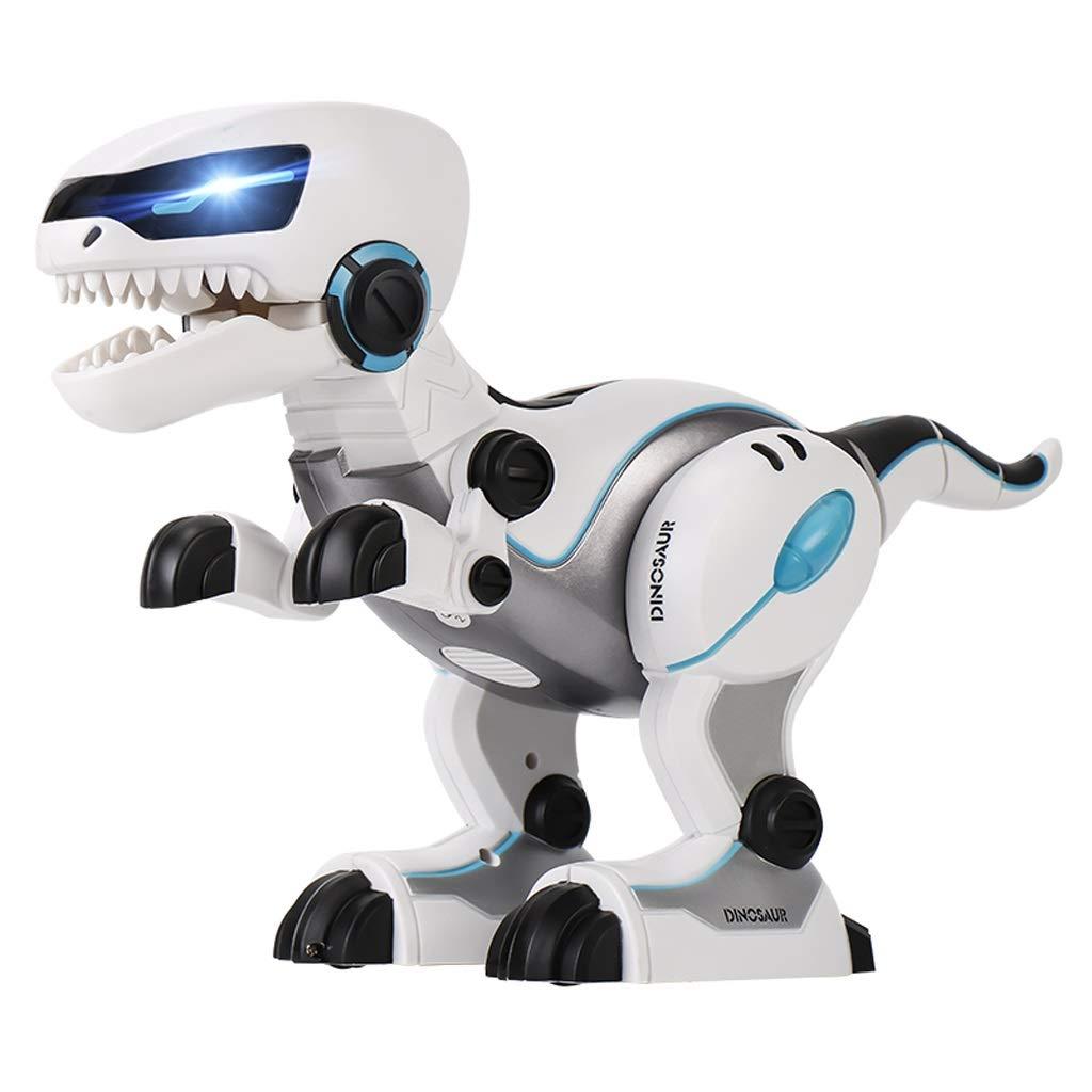 DUWEN Robot Dinosaurio de Control Remoto de Juguete Elegante Dinosaurio Baile Eléctrico Programación Cantando Animal Robot Juguete de Los Niños Inteligente