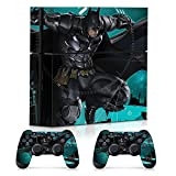Controller Gear Officially Licensed By PlayStation and WB Console and Dual Controller Combo Skin Set Batman Arkham Knight: Side Mission for PS4. Protective Vinyl Cover - PlayStation 4