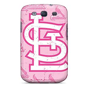 Ocl4149NLKM pc Case Skin Protector For Galaxy S3 St. Louis Cardinals With Nice Appearance