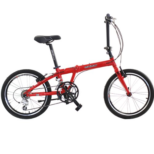Hasa Folding Foldable Bike Shimano 18 Speed 20 Inch - 9 Speed Hg Chain 53
