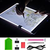 Diamond Painting Light Pad Board Box A4 Tablet LED Art Embroidery Stencil Drawing Cross Stitch Kits with Free Tools