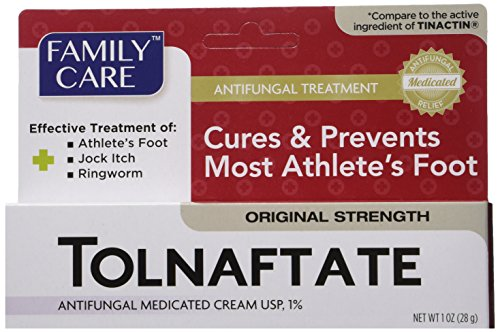 (2 Pack Tolnaftate Cream USP 1% Antifungal Athlete's Foot Compare to Tinactin-1 OZ)