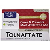 2 Pack Tolnaftate Cream USP 1% Antifungal Athlete's Foot Compare to Tinactin-1 OZ
