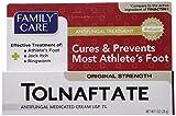 Athletes Foot Remedies 2 Pack Tolnaftate Cream USP 1% Antifungal Athlete's Foot Compare to Tinactin-1 OZ