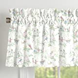 Carousel Designs Nursery Rhyme Toile Window Valance Rod Pocket