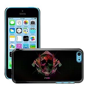 Super Stellar Slim PC Hard Case Cover Skin Armor Shell Protection // M00052258 aero black fwa st // Apple iPhone 5C