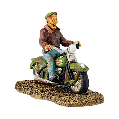 Department 56 Snow Village Halloween Ghost Rider on the Road Accessory, 3.31 inch (Halloween Accessory Snow Village)