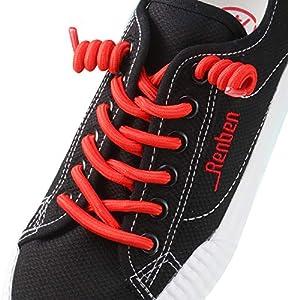 12 Pairs No Tie Curly Shoelaces Elastic