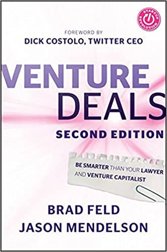 Amazon venture deals be smarter than your lawyer and venture amazon venture deals be smarter than your lawyer and venture capitalist 9781118443613 brad feld jason mendelson dick costolo books fandeluxe Image collections