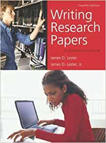 writing research papers a complete guide spiral bound 11th edition Writing research papers: a complete guide (spiral-bound) (11th edition) by james d lester and a great selection of similar used, new and collectible books available.