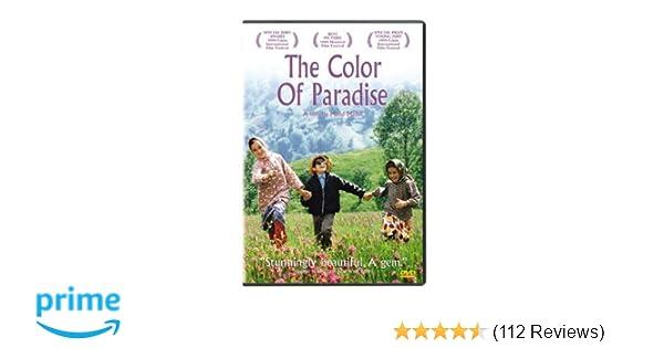 Amazon.com: The Color of Paradise: Mohsen Ramezani, Elham Sharifi ...