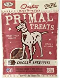 Primal Treats Dry Roasted Chicken Shredders 40oz (10 x 4oz)