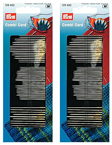 (Prym Assorted Sewing Needles Silver - Double Pack)