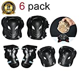 TBNO1 Roller Skating Knee Pads Childrens Knee Pads Elbow Pads Wrist Elbow Protective Blading Pads Knee Guards Set for Adult Youth