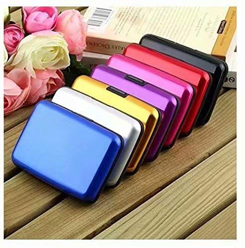 Automatic Business Card Holder Pop Up Case Credit Card Protector 3