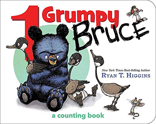 (1 Grumpy Bruce (A Mother Bruce Book): A Counting Board Book (Mother Bruce)