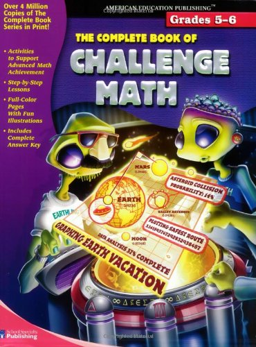 Counting Number worksheets grade 7 math probability worksheets : Amazon.com: The Complete Book of Challenge Math (9780769643335 ...