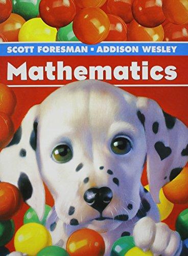 SCOTT FORESMAN MATH 2004 SINGLE VOLUME PUPIL EDITION GRADE K