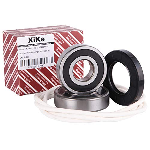 Price comparison product image XiKe 134642100 134361900 Washer Tub Bearing Seal Kit Rotate Quiet and Durable,  Replacement for Electrolux and Kenmore 1482894,  AH2350420,  EA2350420 Etc.