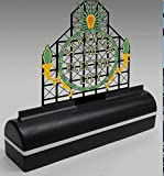 """Same great Scranton City Electric Sign in a DTN baseThe sign in a DTN base only has 6 lighting sequencesruns on 3 AA batteries or a 110V wall adapter (4.5v DC)Appox size including base 6.5"""" wide x 7"""" tallgreat for shelf of desk display or Dept 56 dis..."""
