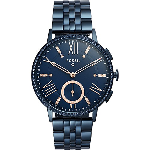 Fossil Hybrid Smartwatch - Q Gazer Navy Blue Stainless Steel by Fossil