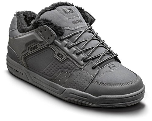 Scribe Globe Grey Fur 15223 Shoes Adults' Grey Winter Charcoal Skateboarding Unisex q7Tr7BE