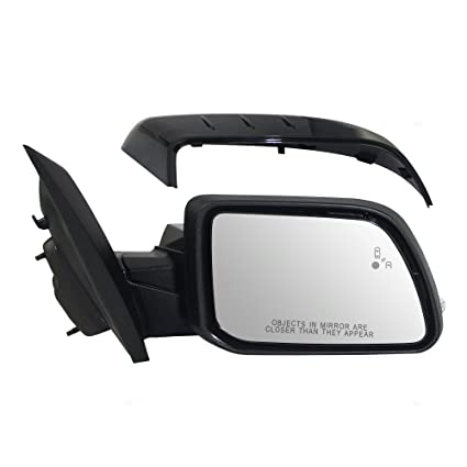 Amazon Com Passengers Power Side View Mirror Heated Signal Puddle Lamp W Blind Spot Detection Replacement For Ford Edge Ctzcaptm Automotive