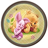 Pooh Baby and Friends Baby Shower Dessert Plates