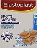 ELASTOPLAST Spots Plastic Adhesive Bandages, 50 Spots