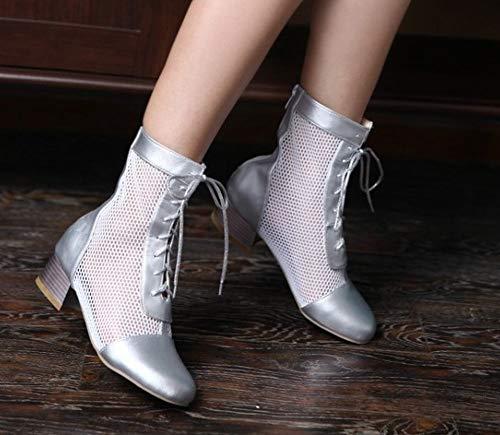 Argento Moda Boots Summer Donna MissSaSa Stivaletti 5Xwgztq