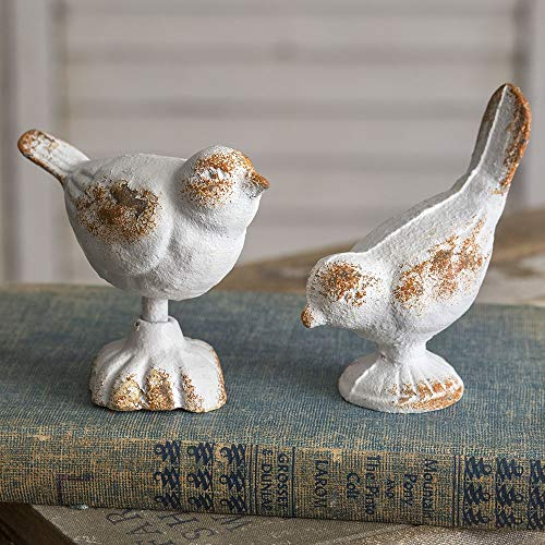 CTW Home Collection Set of Two Cast Iron Birds ()