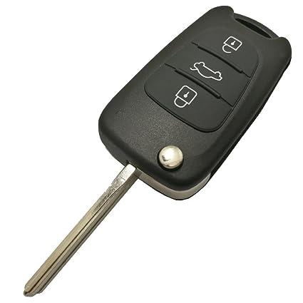 Amazon Com Replacement Key Fob Case Shell For Hyundai I20 I30 I35