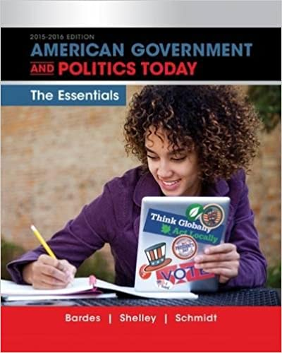 American government and politics today essentials 2015 2016 edition american government and politics today essentials 2015 2016 edition with mindtap political science 1 term 6 months printed access card i vote for fandeluxe Image collections