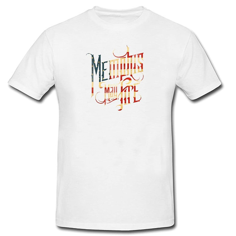 CEMMA memphis-may-fire-logo Tshirts Customize Short sleeve Black