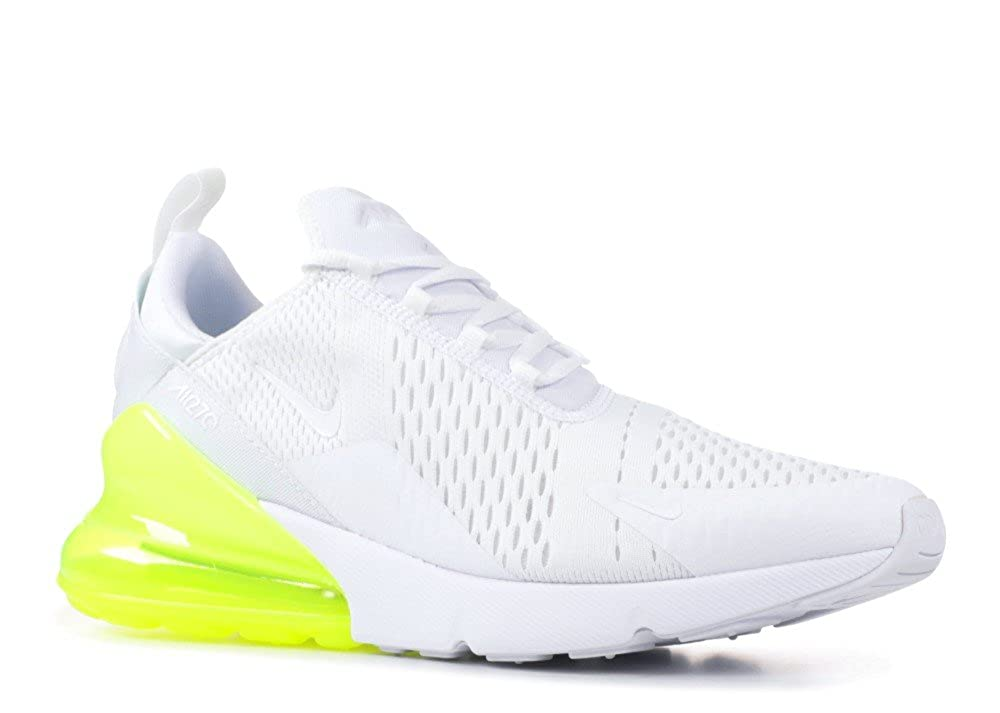 MultiFarbe (Weiß Weiß-volt 104) Nike Air MAX 270, Hausschuhe de Running para Hombre