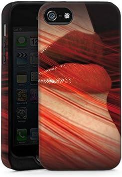 Apple iPhone 3 GS funda funda carcasa protección labios ...