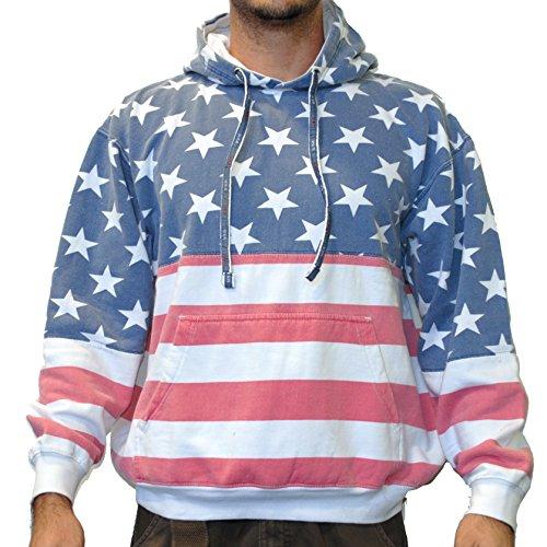 Unisex American PullOver Hoodie Sweatshirt product image