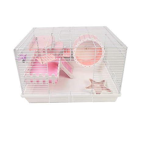 DRKJ Hamster Cage Foundation Cage Hamster Erizo Rama De Flores ...