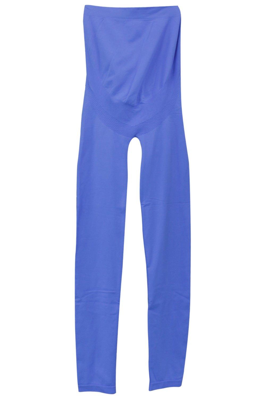 Franato Women's Seamless Full Ankle Length Maternity Stretch Leggings CA12452B