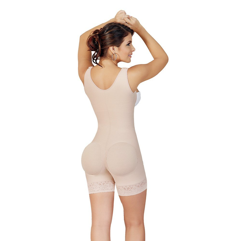 Fajas Salome Womens 0518-2 Body Shaper (3XL, Nude) at Amazon Womens Clothing store: