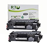 Renewable Toner Compatible Toner Cartridge Replacement for HP CF280A (2-Pack )