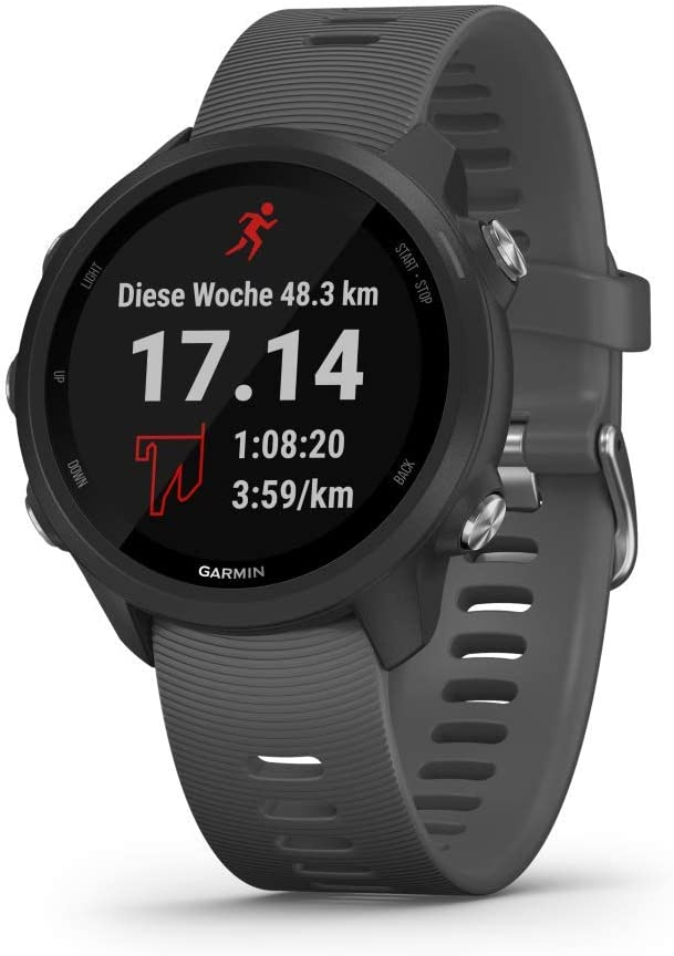 Garmin Forerunner 245 Gps Running Watch Smartwatch No Accessories Grey Navigation Car Hifi