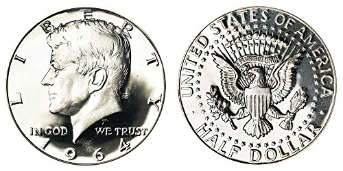 1964 Kennedy Silver Half Dollar - Brilliant Uncirculated