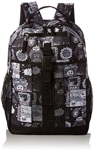 The Children's Place Boys' Backpack, black 2, One Size